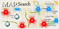 Real Estate Search using Interactive Map